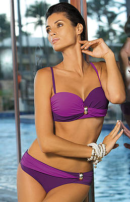 b86303d851843 Двухцветный купальник M 259 LILIANA (размеры S-2XL в расцветках) 495 грн.  Другие купальники женские от ИМ Кокетка