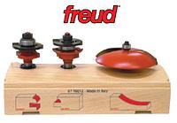 Комплект для мебельных фасадов из трех фрез (Freud, Италия)