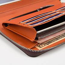 Мужское портмоне Baellerry Leather, кошелек Балери Лезер, клатч Балери качество!, фото 2