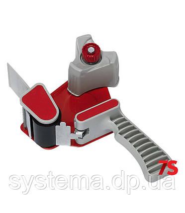 Диспенсер ручной упаковочный для клейких лент с регулировкой натяжения, фото 2
