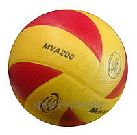 Мяч волейбольный Mikasa MVA 200, разн. цвета