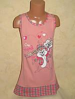Летнее повседневное  платье для девочек
