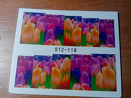 Слайдер-дизайн водный STZ-118