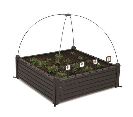 Грядка для растений Garden Bed черная