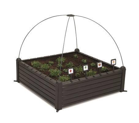 Грядка для растений Garden Bed черная, фото 2