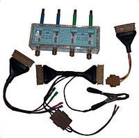 Розрядник високовольтний РВВ-4К і комплект перехідників для стенду Блискавка-К.