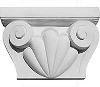Гипсовая капитель пилястры. Классические архитектурные декоры