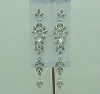 Свадебные серьги (Весільні сережки) 672