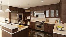 Дизайн-проект интерьера - кухня big size