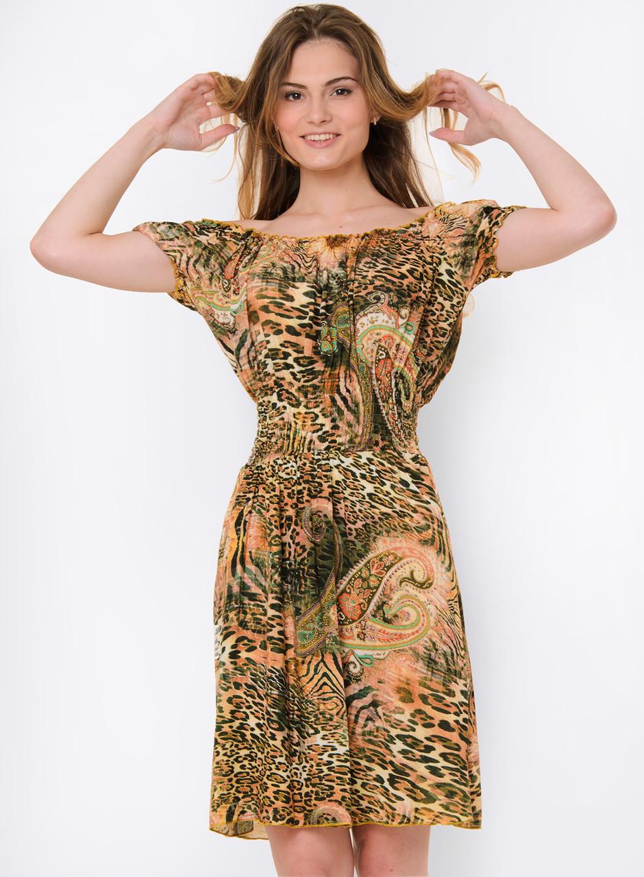 927c3aaa1a2 Летнее женское платье-трансформер с ярким принтом 90114 3 - Модный Оазис в  Харькове