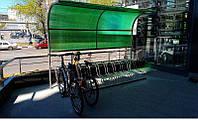 Крытая велопарковка на 10 мест