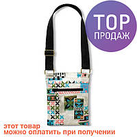 Женская сумка Dakine Jive 1L Woodblock / наплечная сумочка