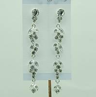 Длинные свадебные серьги (Довгі весільні сережки) 675