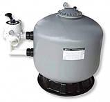 Песочный фильтр для бассейна Emaux S800; 24.1 м³/ч; боковое подключение, фото 2