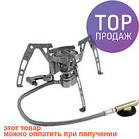 Горелка газовая складная с пьезо Tramp TRG-010