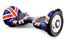 Гироскутер гироборд 10 дюймов флаг, фото 3
