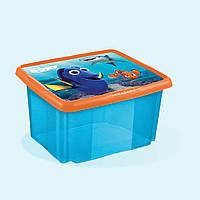 Ящик для игрушек Dory 24 литра Keeeper