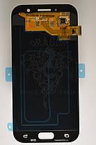 Дисплей Samsung A520 Galaxy A5 с сенсором Голубой Blue оригинал , GH97-19733C, фото 2