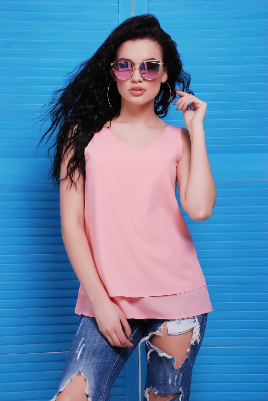 "Блуза ""Maya"" розовый"