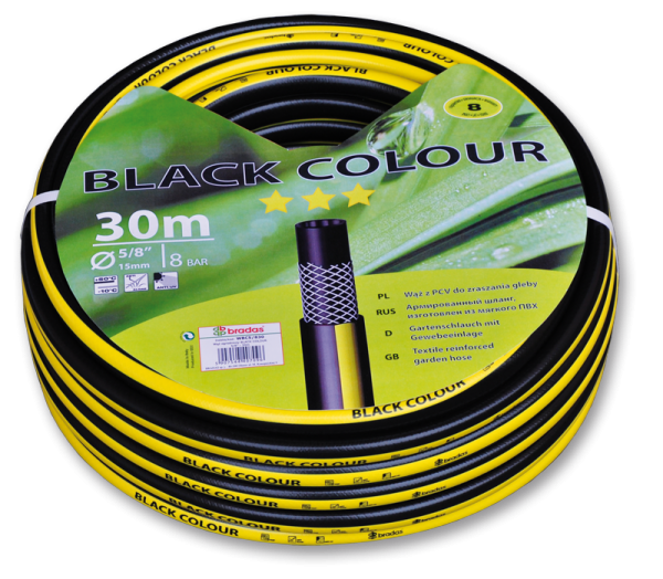 "Шланг для полива BLACK COLOUR 1/2"" - 30м"