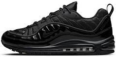 Женские кроссовки Supreme x Nike Air Max 98 Black, найк, айр макс