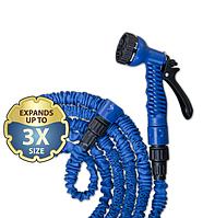 Шланг растягивающийся TRICK HOSE голубой, 5-15м