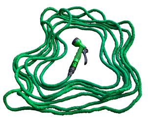 Шланг розтягується TRICK HOSE зелений, 5-15м, фото 2