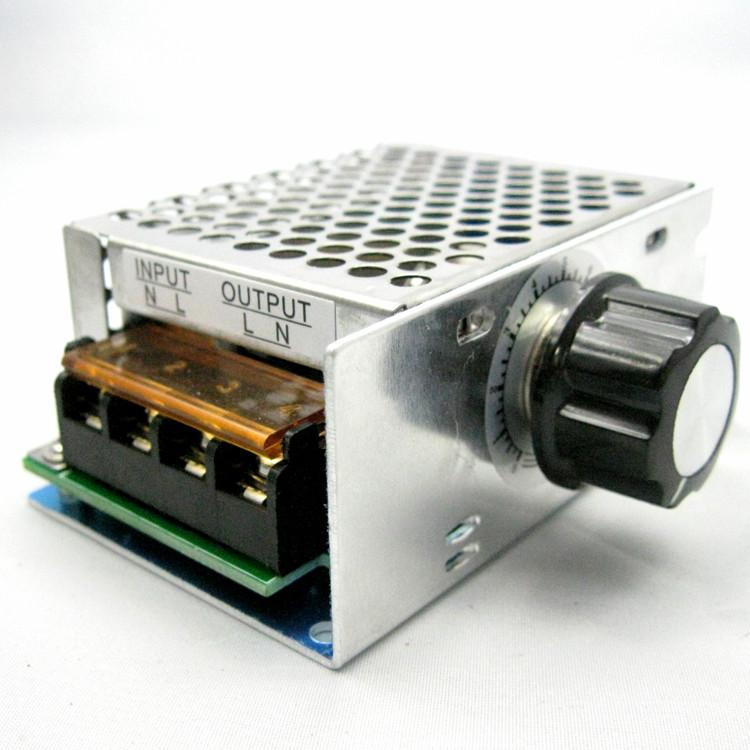 Регулятор напряжения AC50-220V 4000W гофрированый (ДИММЕР) димер