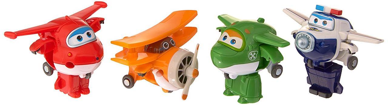 Супер крылья самолеты трансформеры Джетт, Пол, Мира, Гранд Альберт Super Wings Transforming Planes