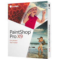 Программная продукция Corel PAINTSHOP PRO X9 ML Minibox EU (PSPX9MLMBEU)