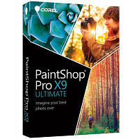 Программная продукция Corel PAINTSHOP PRO X9 UL ML Minibox EU (PSPX9ULMLMBEU)