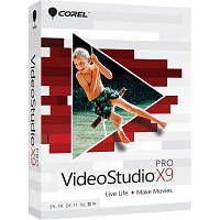 Программная продукция Corel VideoStudio Pro X9 ML EU box (VSPRX9MLMBEU)