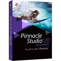 Программная продукция Corel Pinnacle Studio 20 Ultimate ML RU/EN for Windows (PNST20ULMLEU)
