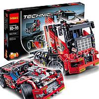 """Конструктор Decool 3364 """"Спортивный болид/Джип-внедорожник"""" 1219 деталей аналог Лего Техник LEGO Technic 42039"""