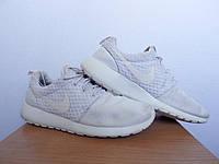 Кроссовки Nike Roshe Run 100% Оригинал р-р 41 (26см)  (б/у,сток)  найк раш ран белые original