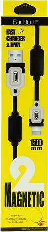 USB кабель шнур для iPhone, iPad, iPod . Earldom ET-125!Опт, фото 3