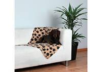 TRIXIE - Beany Подстилка для собак, беж в лапах, 100х70