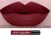 Матовая бархатная помада для губ LIQUID SUEDE CREAM Cherry Skies