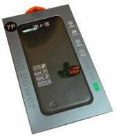 Пластиковый чехол с дополнительным аккумулятором для iPhone 7+. Модель: 07P-03, оригинальнаяя емкость 4800mAh.