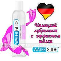 Лубрикант нежный шелк Смазка на водной основе гель 150 ml Оригинал Waterglide Silk