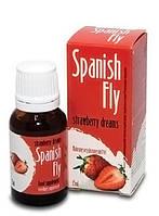 Возбуждающие капли Spanish Fly, клубника, 15 мл