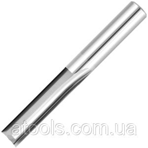 Фреза для ЧПУ прямозубая плоская D8 d8 L60 l30 - 2 зуба