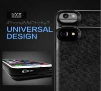 Пластиковый чехол с дополнительным аккумулятором для iPhone 6/7
