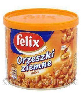 Смажений арахіс felix 140g з медом (12шт/ящ) - Anvaro # Замовлення приймаємо на 25 вересня в Львовской области
