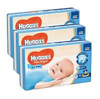 Подгузники Huggies Ultra Comfort 3 (5-9 кг) для мальчика 3 x 56 шт. (168 шт), фото 1