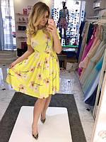 Женское платье Принт цветы БАТАЛ