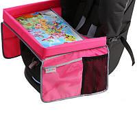 Tuloko Универсальный столик для детского автокресла Pink