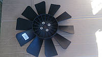 Вентилятор системы охлаждения (крыльчатка) Газель,Соболь 10 лопастей черный (пр-во ГАЗ)