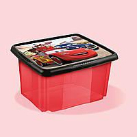 Ящик для детской комнаты Тачки 45 литров Keeeper