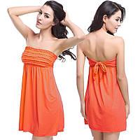 Пляжное платье с завязкой на спине РМ6379